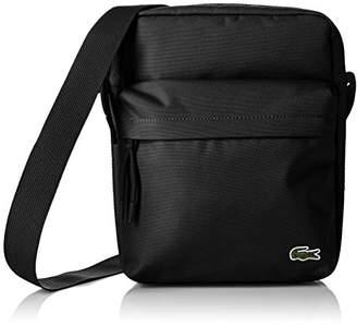Lacoste Men''s NH2012NE Cross-Body Bag, (Black), 28 x 8 x 21.5 cm