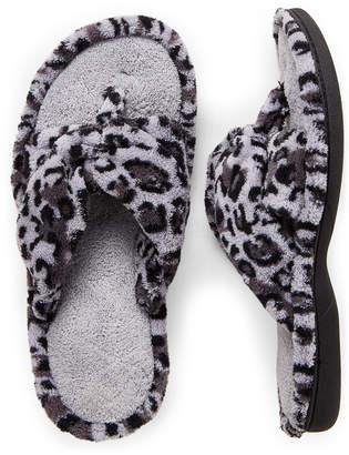 Dearfoams Terry Cloth Thong Slippers
