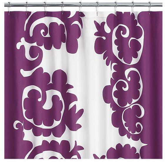 Marimekko Samovaari Berry Shower Curtain