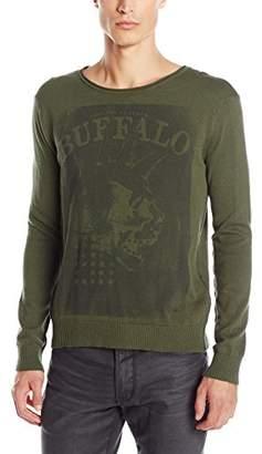 Buffalo David Bitton Men's Wicrane Long Sleeve Fashion Sweater