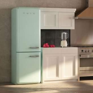 west elm SMEG Two-Door Refrigerator