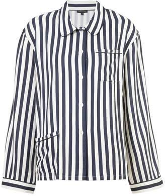 Morgan Lane Dillon striped pyjama top