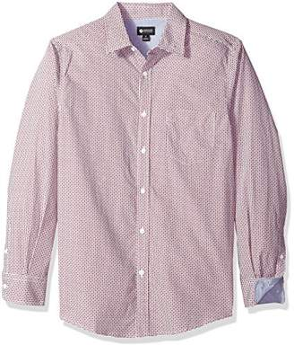 Haggar Men's Long Sleeve Tuckless Shirt