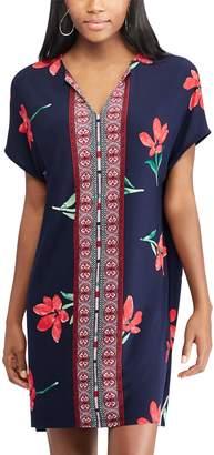 Chaps Women's Floral & Mosaic Print Shift Dress