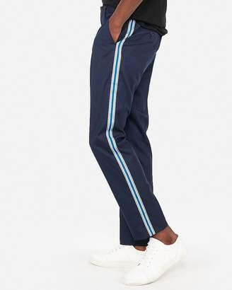 Express Stretch Side Stripe Dress Pant