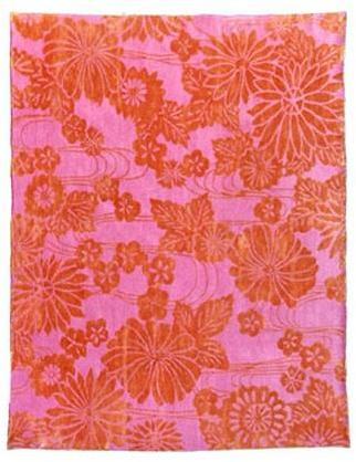 Emma Gardner - flowers on water rugs by emma gardner