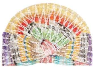 Missoni Mare - Zigzag Crochet Knit Turban Hat - Womens - Multi