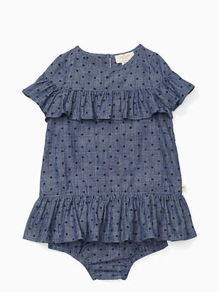 Kate Spade Infant ruffle dress