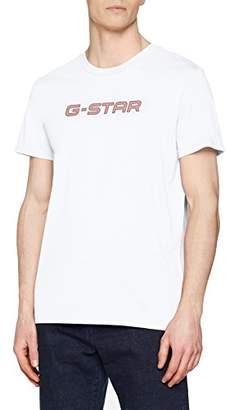 G Star Men's Geston R T S/s T-Shirt, (White 110)