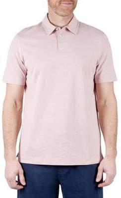 Haggar Heritage Regular-Fit Slub Cotton Polo