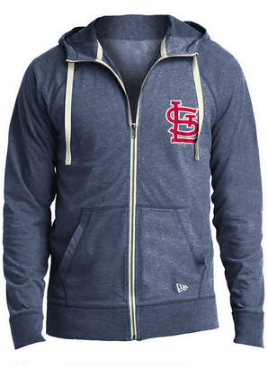 New Era Men's St. Louis Cardinals Sueded Full-Zip Hoodie
