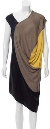 Zero Maria Cornejo Sleeveless Asymmetrical Dress