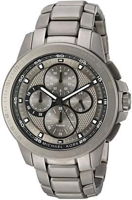 Michael Kors Men's Ryker Grey Watch MK8530