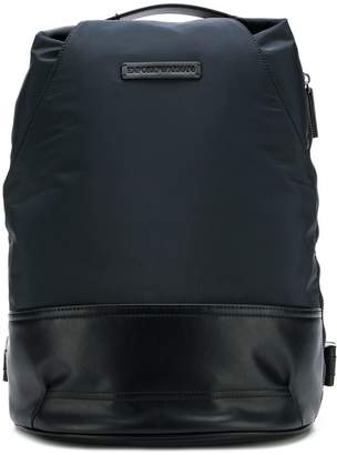 Emporio Armani panelled backpack