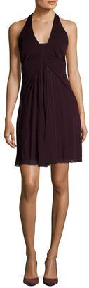 Karen Millen Women's Wrapped Draped Jersey Dress
