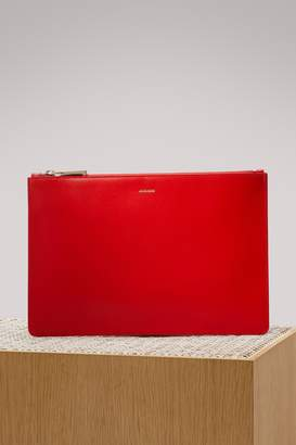 Jil Sander Envelope leather bag