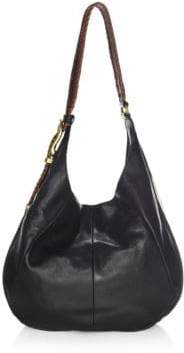 Frye Jacqui Whipstitch Leather Hobo Bag