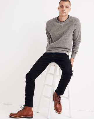 Madewell Slim Jeans in Saturated Black Wash