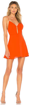 About Us Helen Cut Out Mini Dress