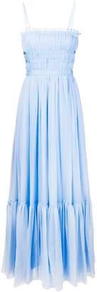 No.21 long empire line dress