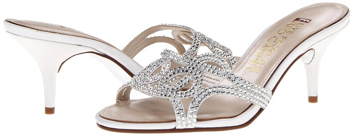 Red Carpet E! Live from the E0043 (White Sateen) - Footwear