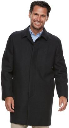 Ike Behar Men's Classic-Fit Wool-Blend Top Coat