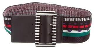 Missoni Knit Buckle Belt w/ Tags