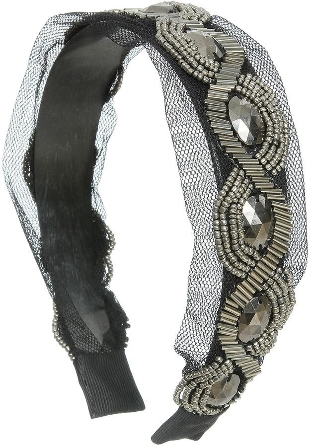 Studded Mesh Headband