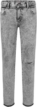 DL1961 Zane Acid Wash Skinny Jeans