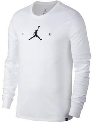 Jordan Nike Men's Air Jumpman Longsleeve Basketball Shirt