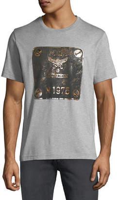 MCM Men's Logo Plaque Graphic T-Shirt