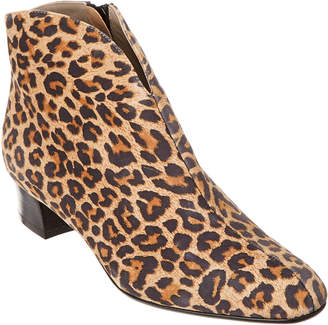 French Sole Ada Leather Bootie