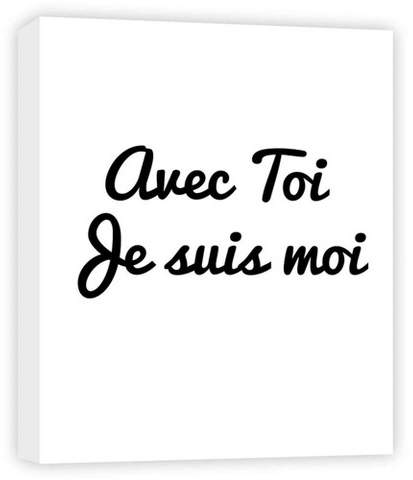 Avec Toi Decorative Canvas Wall Art 11