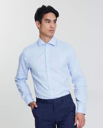 Ben Sherman Herringbone Kings Business Shirt