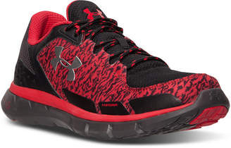 Under Armour Men's Micro G Velocity Storm Running Sneakers from Finish Line
