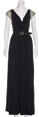 Tracy Reese Embellished Maxi Dress