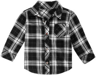 First Impressions Baby Boys Flannel Plaid Cotton Shirt