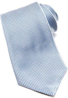 Giorgio Armani Diamond Silk Tie, Royal