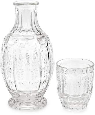 Elle Decor Victorian 2-Piece Carafe & Glass Set