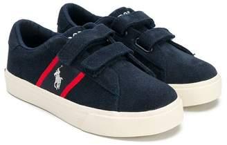 Ralph Lauren (ラルフ ローレン) - Ralph Lauren Kids contrast logo sneakers