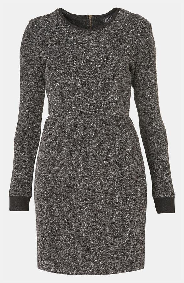 Topshop Melange Knit Dress