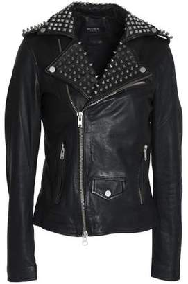 Muu Baa Muubaa Studded Leather Biker Jacket