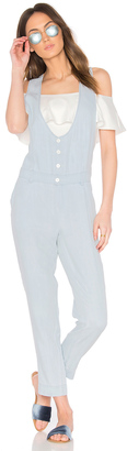 Obey Denizen Jumpsuit $107 thestylecure.com