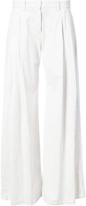 Nili Lotan wide-leg palazzo trousers