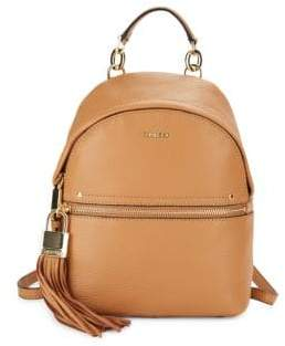 Calvin Klein Lynn Pebbled Leather Backpack