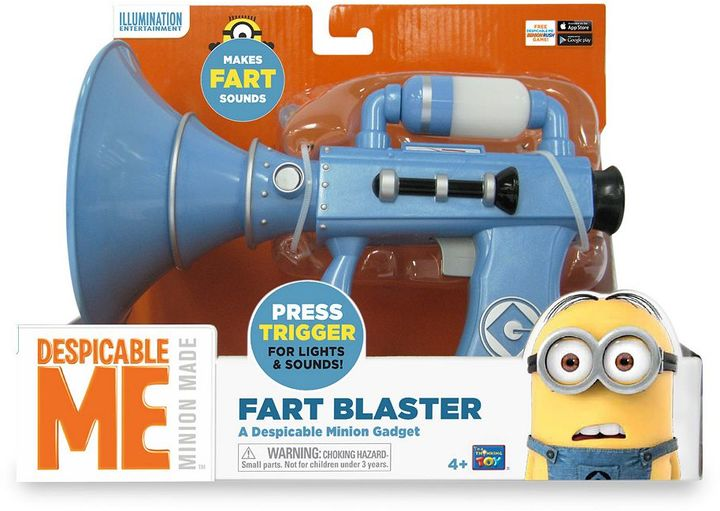 Despicable Me Minion Made Fart Blaster