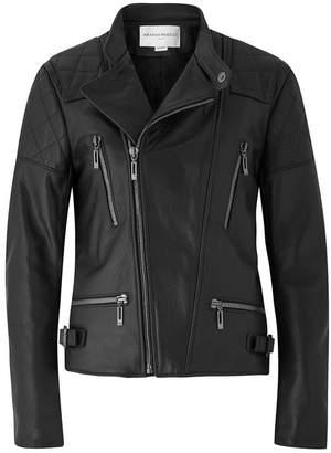 Amanda Wakeley Onishi Black Leather Jacket