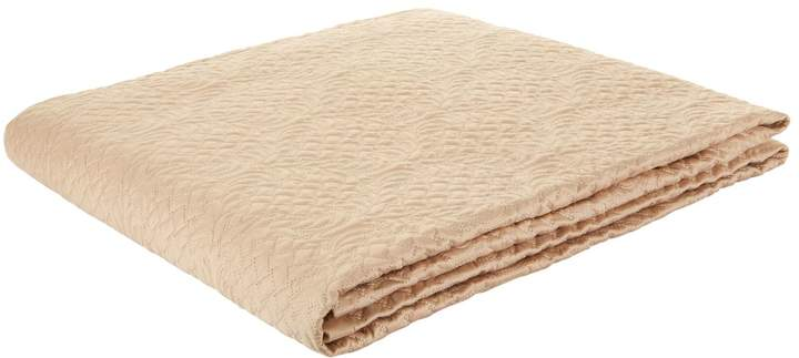Kuros Embroidered Light Quilt (270cm x 260cm), Beige