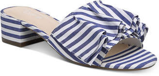Bar III Janie Slide-On Sandals, Created for Macy's Women's Shoes