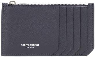 Saint Laurent Leather card holder